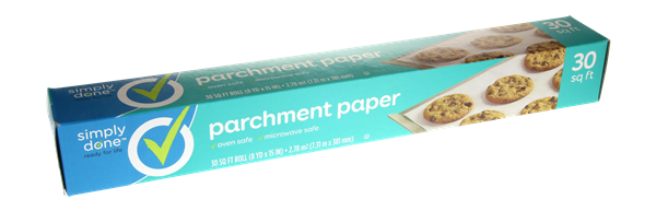 Simply Done Parchment Paper