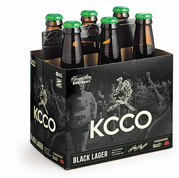 KCCO Black Lager Beer 6 Pack | Hy-Vee Aisles Online Grocery Shopping