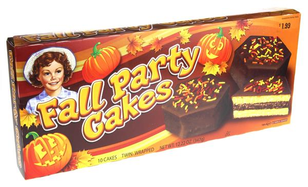 Little Debbie Fall Party Cakes Chocolate 10Ct