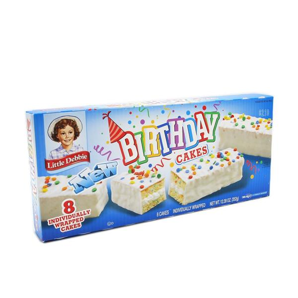 Little Debbie Birthday Cakes 8ct Hy Vee Aisles Online Grocery Shopping