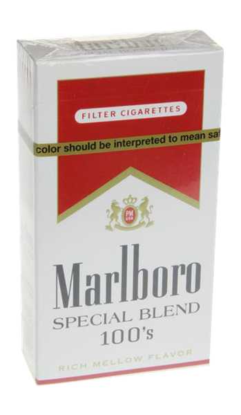 Marlboro cigarettes with no nicotine