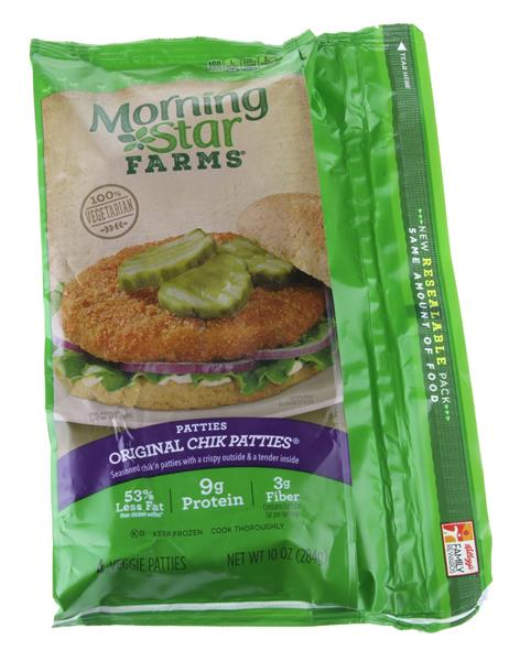 Morning Star Farms Original Chik Patties 4Ct