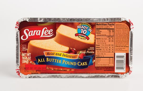 sara lee pound cake all butter pound cake hy vee aisles 7265