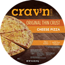 Crav'n Flavor Cheese Pizza Original Thin Crust