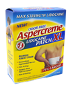 Aspercreme Lidocaine XL Patch