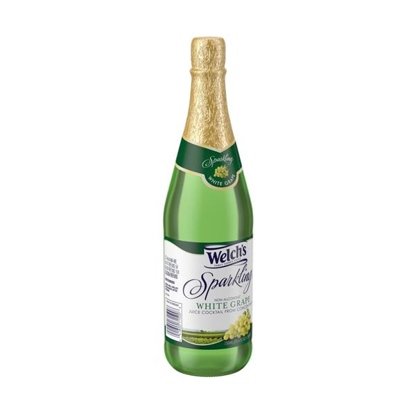 Welch's Sparkling Non Alcoholic White Grape Juice Cocktail