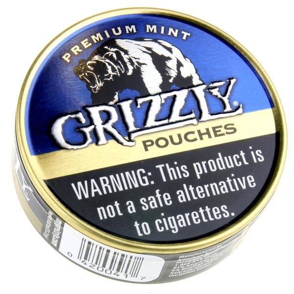 Grizzly Premium Mint Pouches | Hy-Vee Aisles Online Grocery