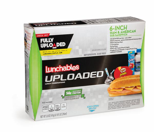 Lunchables Sandwich Nutrition Facts on oscar mayer lunchables pepperoni pizza
