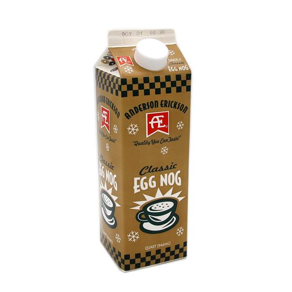 Egg Nog Using Heavy Cream: Anderson Erickson Classic Egg Nog