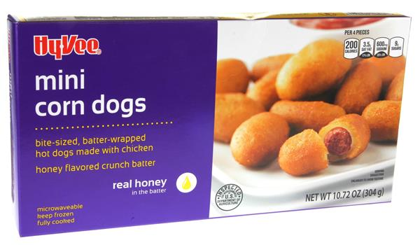 foster farms mini corn dog cooking instructions
