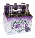 Smirnoff Ice Grape 6 Pack