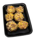 Cheddar-Bacon Stuffed Mushrooms