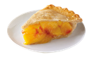 Gourmet Peach Pie 10 Inch