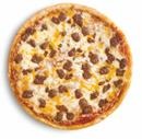 Beef Pizza Family Size Traditional Crust