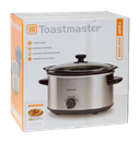Toastmaster 5qt Stainless Steel Slow Cooker