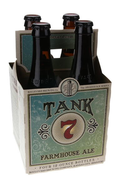 Boulevard Brewing Co Tank 7 Farmhouse Ale 4 Pack